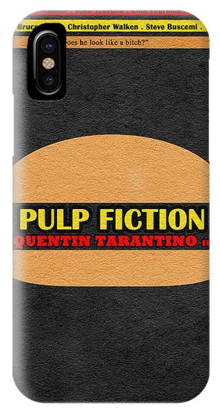 Movie iPhone Case - Pulp Fiction by Inspirowl Design