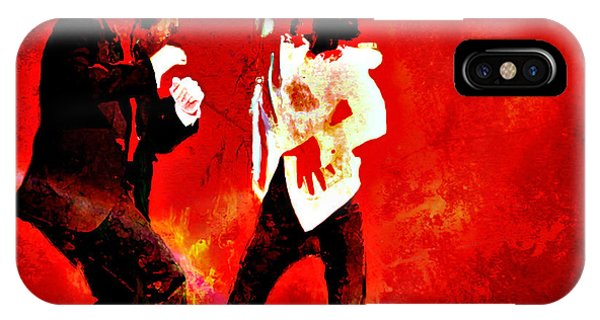 Pulp Fiction Dance 2 IPhone Case
