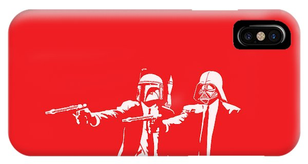 Movie iPhone Case - Pulp Wars by Patrick Charbonneau