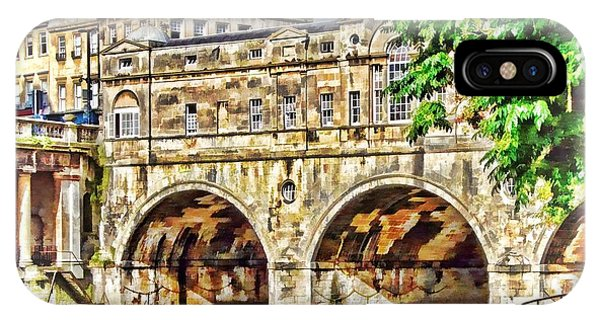 Pulteney Bridge Bath IPhone Case