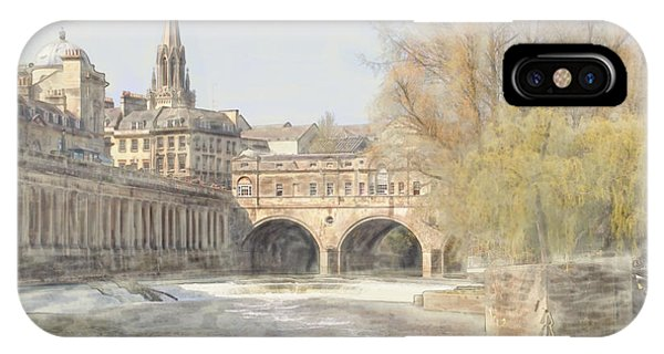 Pulteney Bridge Bath IPhone Case