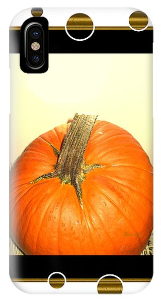 Pumpkin Card IPhone Case