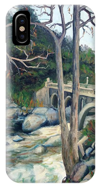 Pumpkin Hollow Bridge IPhone Case