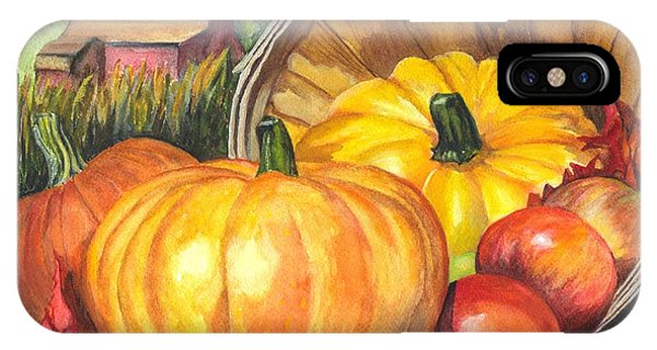Pumpkin Pickin IPhone Case