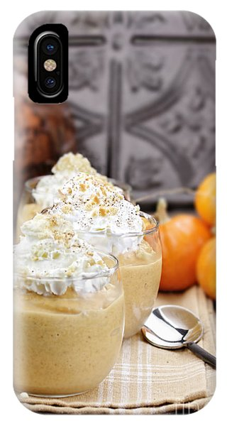 Smoothie iPhone Case - Pumpkin Smoothies by Stephanie Frey