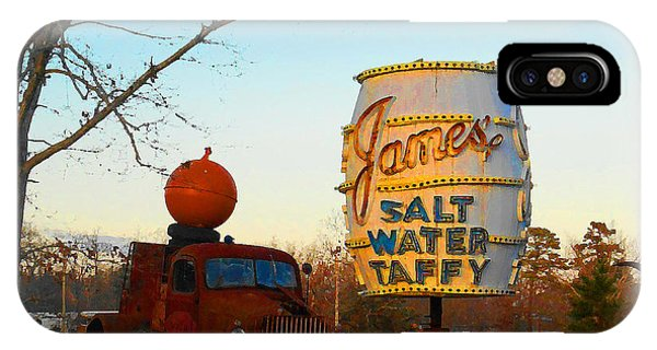 Pumpkin Truck And Salt Water Taffy IPhone Case