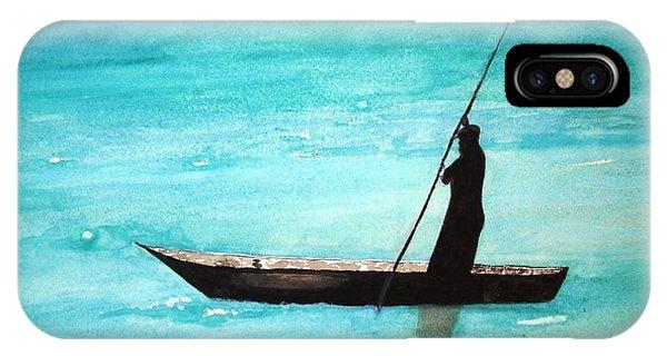 Punt Zanzibar Boat IPhone Case