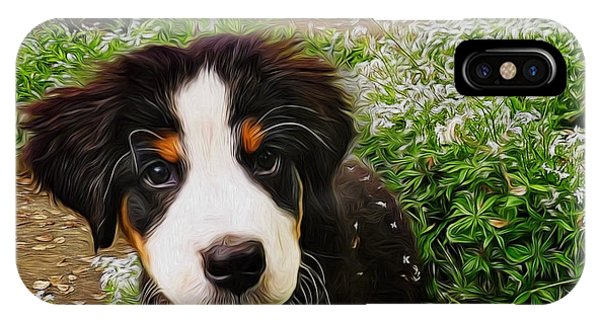 Puppy Art - Little Lily IPhone Case