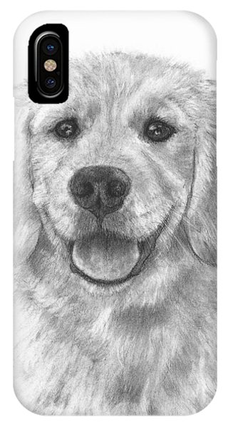 Puppy Golden Retriever IPhone Case