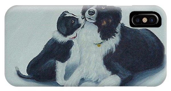 Puppy Kisses IPhone Case