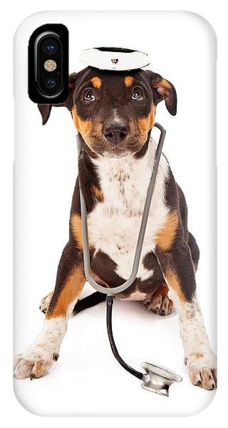 Puppy Veterinarian IPhone Case