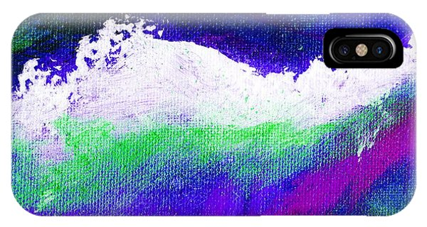 Pura Purple Phone Case by L J Smith