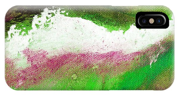 Pura Scarlet Green Phone Case by L J Smith