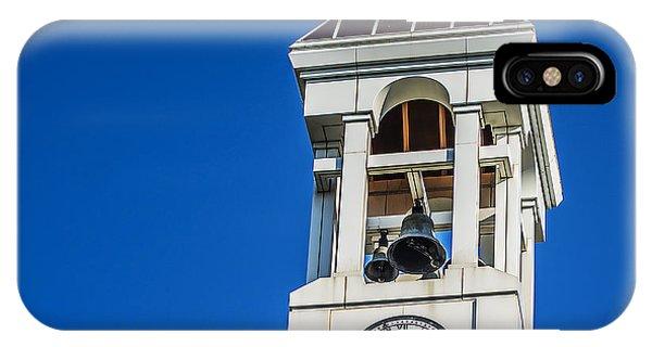 Purdue Boilermakers iPhone Case - Purdue University Bell Tower Clock by David Haskett II