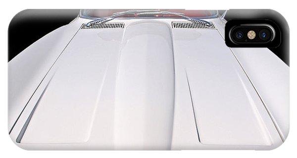 Pure Enjoyment - 1964 Corvette Stingray IPhone Case