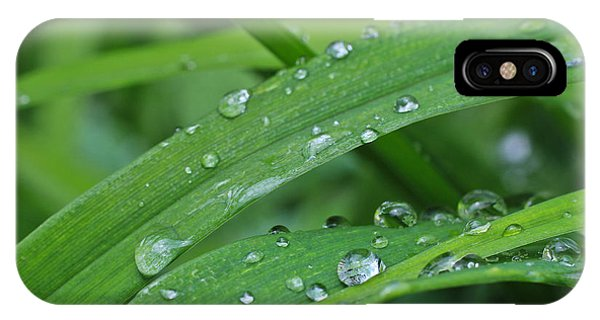 Pure Green IPhone Case