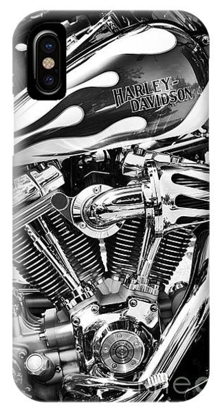 Pure Harley Chrome IPhone Case