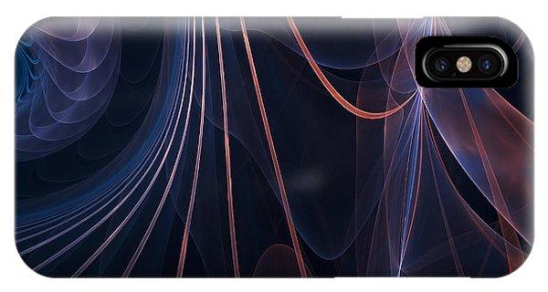 Violet Flame iPhone Case - Purple Ablaze by Lourry Legarde