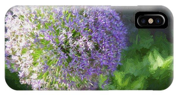 Purple Allium 1 Hollandicum Sensation  IPhone Case
