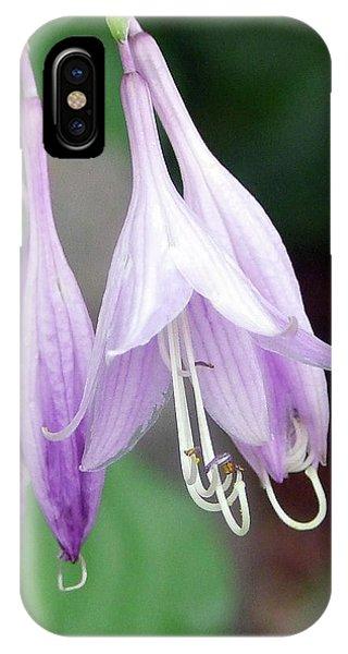 Purple And White Fuchsia IPhone Case
