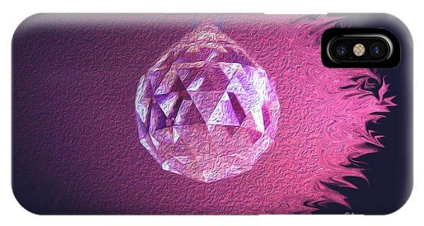 Purple Blaze IPhone Case