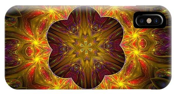 Purple Bliss Kaleidoscope IPhone Case