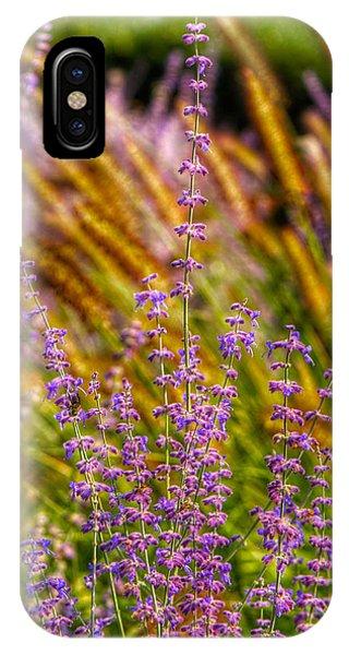 Purple Blooms Phone Case by Kathi Isserman