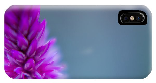 Purple Blur IPhone Case