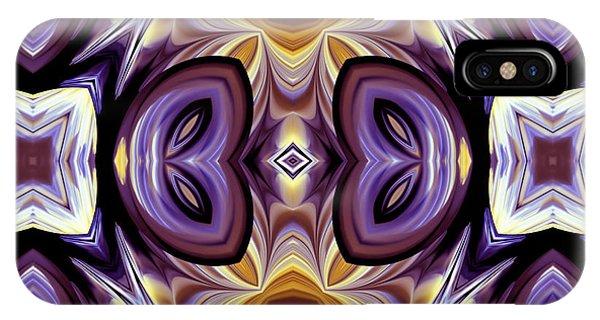 Purple Boudoir IPhone Case