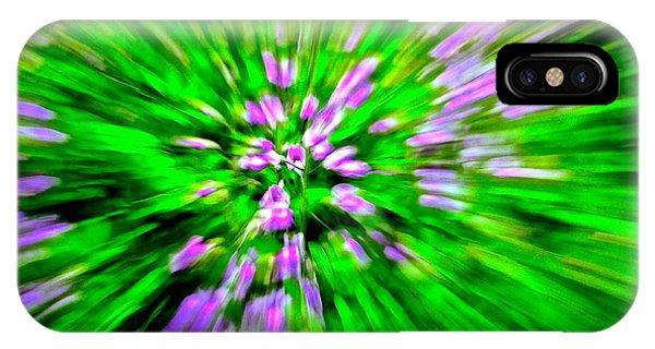 Purple Burst IPhone Case