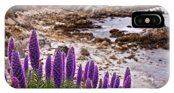 Purple California Coastline IPhone Case