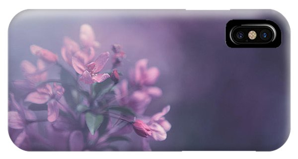 Blossoms iPhone Case - Purple by Carrie Ann Grippo-Pike