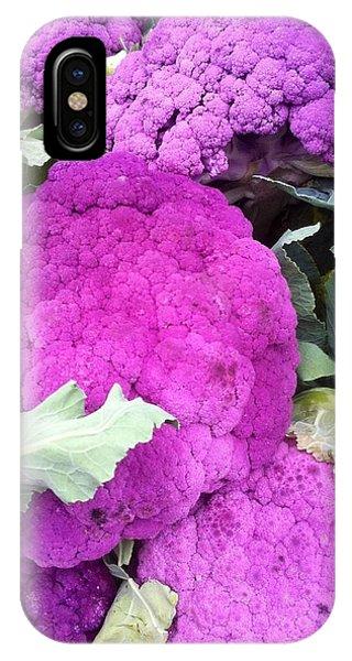 Purple Cauliflower IPhone Case