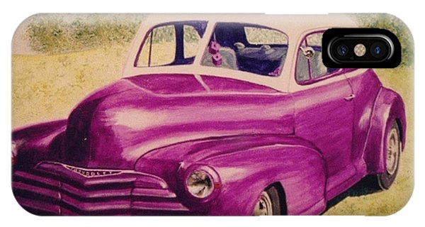Purple Chevrolet IPhone Case