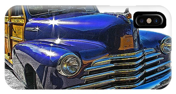 Purple Chevrolet Woody IPhone Case