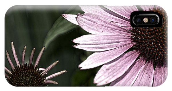 Purple Coneflower Imperfection IPhone Case