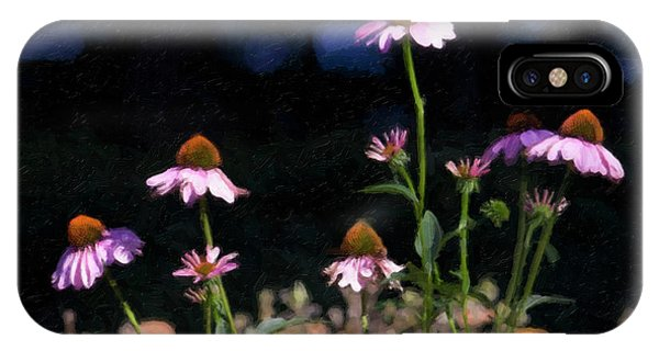 Purple Coneflowers Echinacea IPhone Case