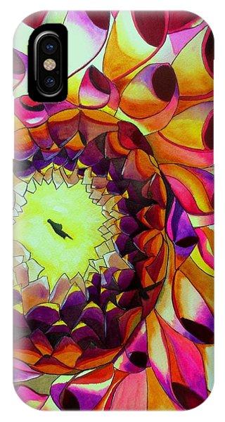 Purple Dahlia Phone Case by Sacha Grossel