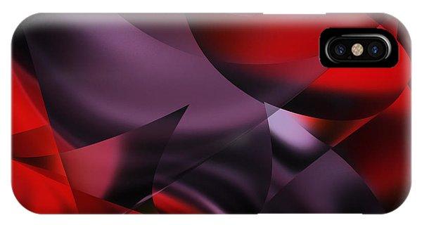 Purple Energy  IPhone Case