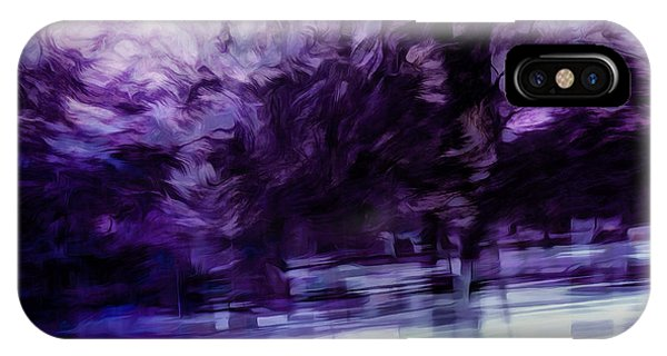 Dusk iPhone Case - Purple Fire by Scott Norris