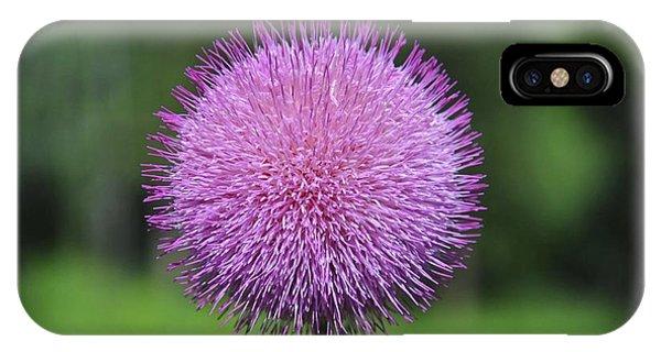 Purple Fuzz IPhone Case
