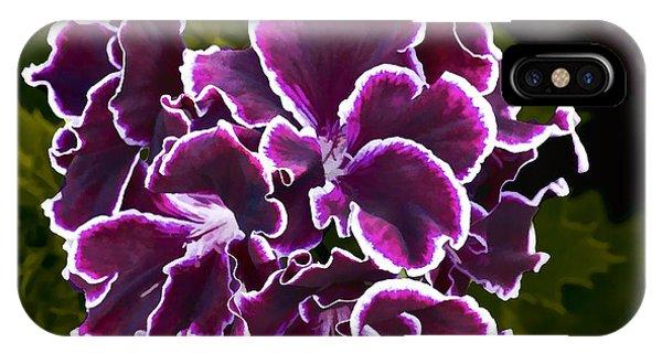 Purple Gernaium IPhone Case