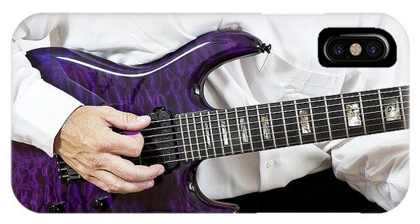 Purple Guitar IPhone Case