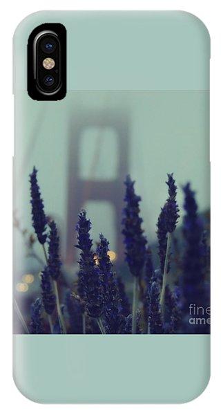 Golden Gate Bridge iPhone Case - Purple Haze Daze by Jennifer Ramirez