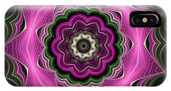 Purple Haze Kaleidoscope IPhone Case