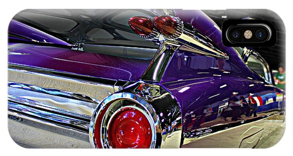 Purple Kustom Kadillac IPhone Case