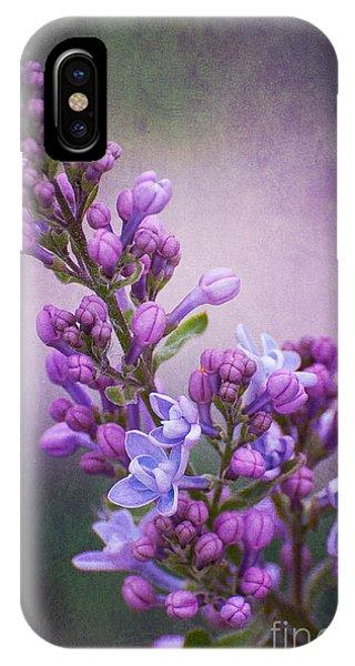 Purple Lilacs IPhone Case