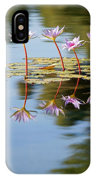 Lilly iPhone Case - Purple Lillies by Peter Tellone