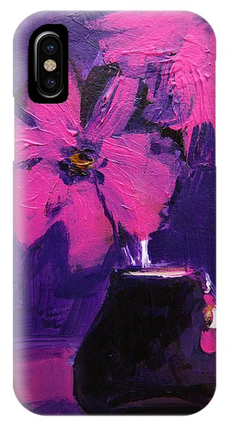 Purple Madness IPhone Case
