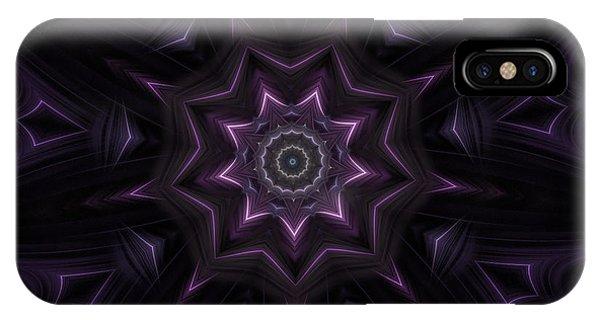 Purple Majestry Kaleidoscope IPhone Case